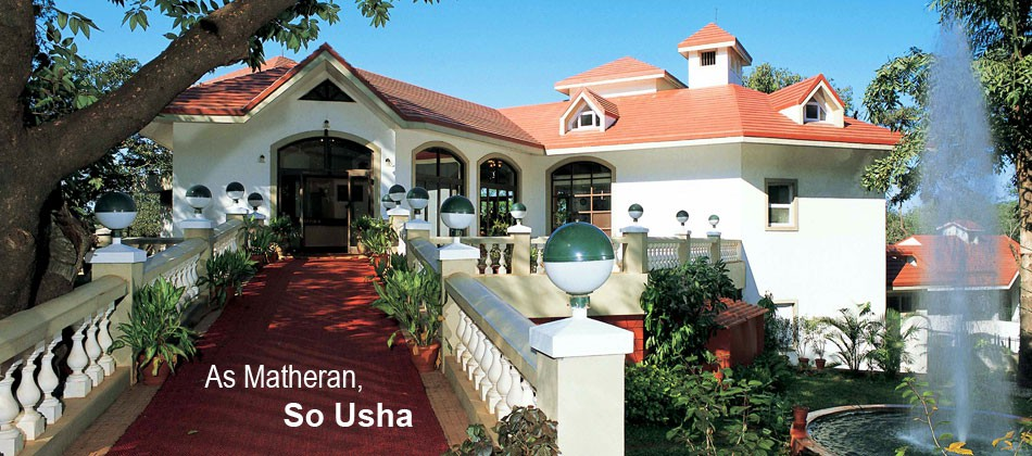Usha Ascot Luxurious Pure Veg Resort In Matheran